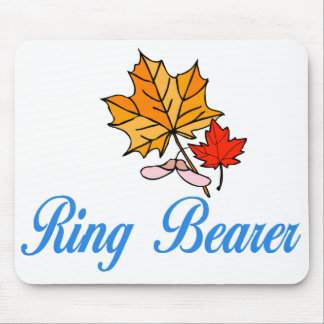 Ring Bearer - fall Mouse Pads