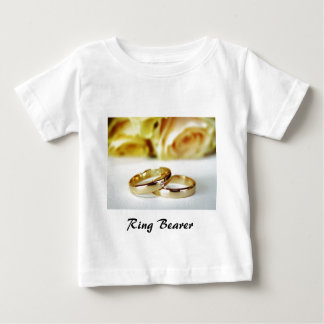 Ring Bearer/Gold Wedding Bands Tshirts