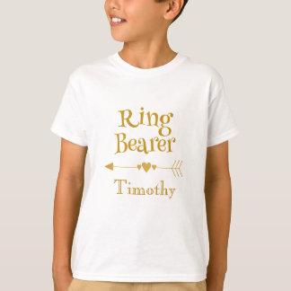 Ring Bearer Personalise T-Shirt