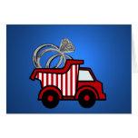 Ring Bearer Red Dump Truck