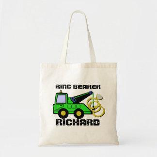 Ring Bearer Tow Truck Green