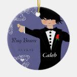 Ring Bearer Wedding Christmas Ornament