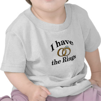 Ring Bearer Wedding Infant Shirt