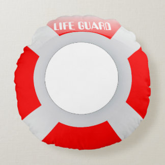 Ring Buoy Round Pillow
