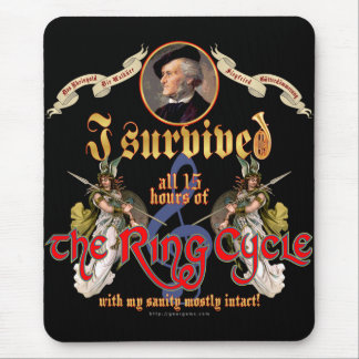 Ring Cycle Survivor Mousepad