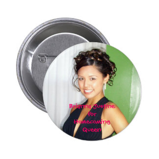 ring dance 2, Brianna JustineforHomecomingQueen 6 Cm Round Badge