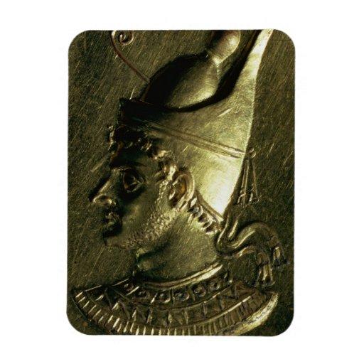 Ring depicting Ptolemy VI Pilometor (c.186-c.145 B Rectangle Magnets