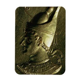 Ring depicting Ptolemy VI Pilometor (c.186-c.145 B Rectangular Photo Magnet