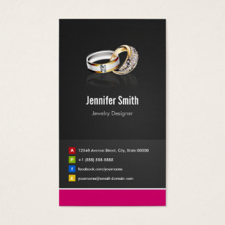 Ring Design Jeweler Jeweller Jewelry Jewellery Business Card