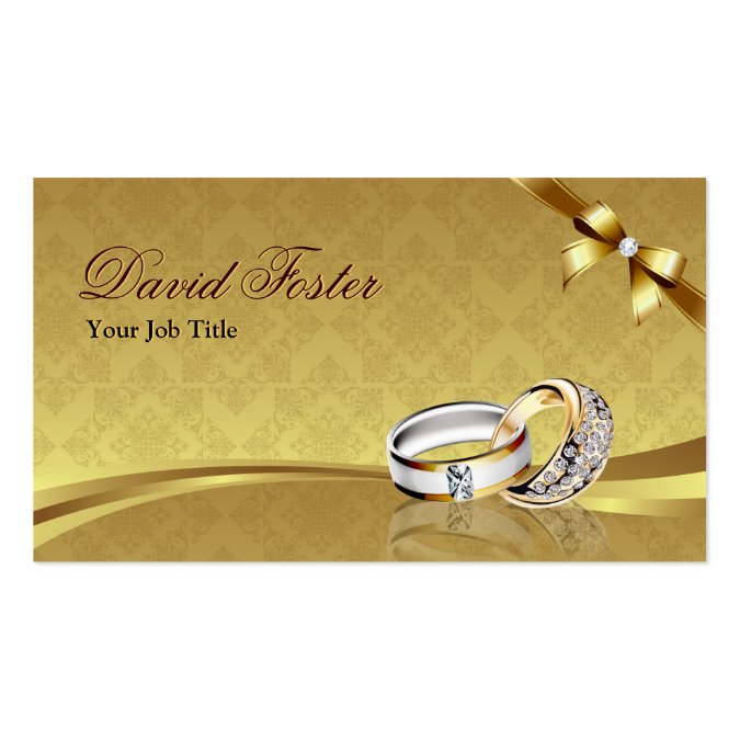 Ring diamond gold jeweler jewelry jewellery business card template wajeb Gallery
