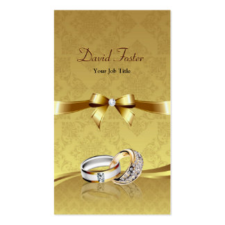 Ring Diamond Gold Jeweler Jewelry Jewellery Pack Of Standard Business Cards