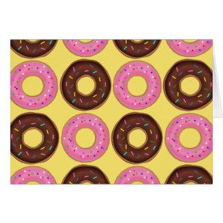 Ring Donut Birthday card