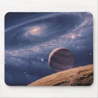 Ring Galaxy Mouse Pad