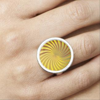 Ring Gold Spiral Vortex