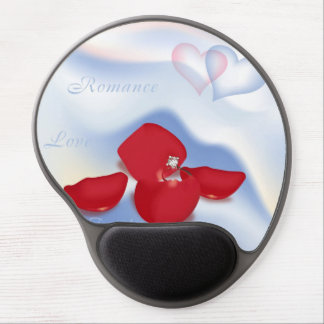 Ring in Petals Gel Mouse Mats