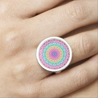 Ring Mandala Mehndi Style G379
