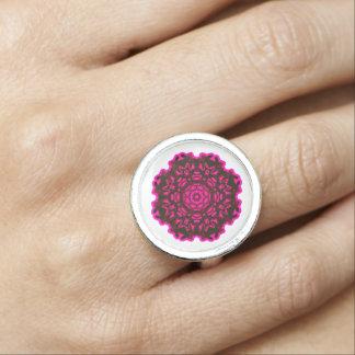 Ring Mandala n°1 Photo Ring