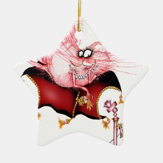 Ring my Bell -funny cat cartoon, tony fernandes Christmas Ornament