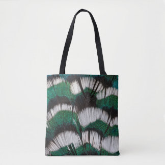 Ring-Necked Pheasant Feathers Tote Bag