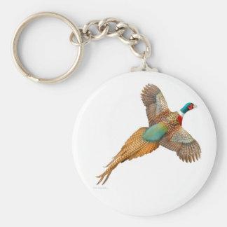 Ring Necked Pheasant Keychain