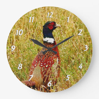 Ring-necked Pheasant Wall Clock