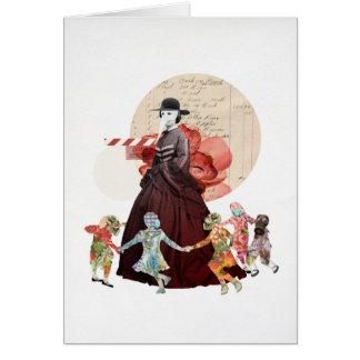 Ring-o-Ring-o-Rosy (The Myth) Greeting Card