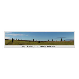 Ring of Brodgar Poster