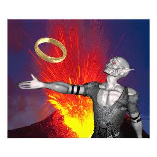 Ring of Destruction Photo Print