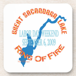Ring Of Fire 2009 Drink Coasters