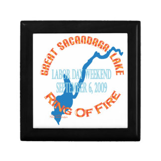Ring Of Fire 2009 Small Square Gift Box