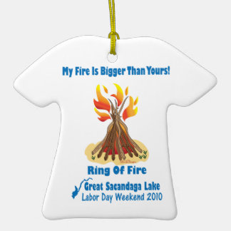 Ring Of Fire 2012 Ceramic T-Shirt Decoration