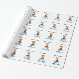 Ring Of Fire 2012 Gift Wrap Paper