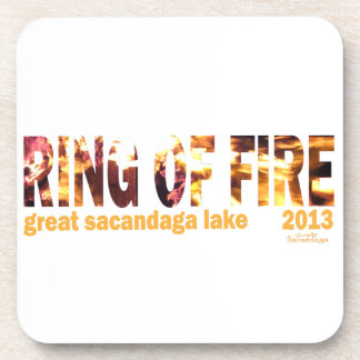 Ring Of Fire 2013 Beverage Coasters