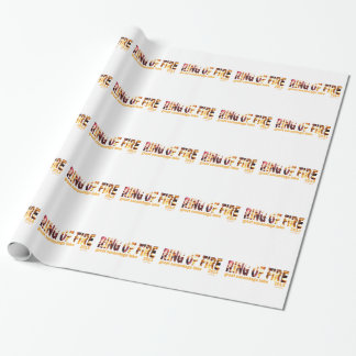 Ring Of Fire 2013 Wrapping Paper