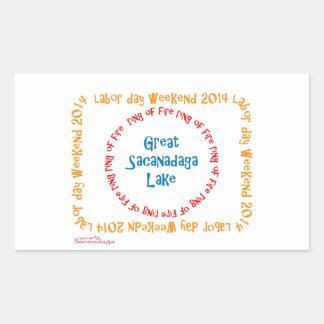 Ring Of Fire 2014 Rectangular Sticker