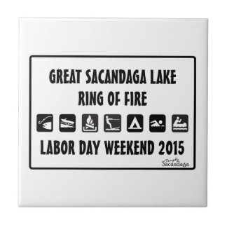 Ring Of Fire 2015 Small Square Tile