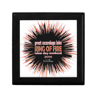 Ring Of Fire 2016 Small Square Gift Box