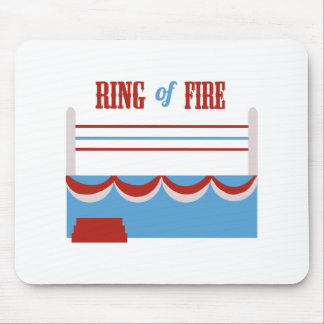 Ring Of Fire Mouse Pads