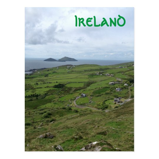 Ring Of Kerry Ireland Irish Ocean View Postcard