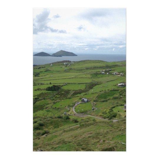 Ring Of Kerry Ireland Irish Ocean View Stationery