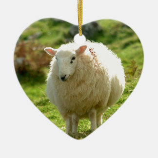 Ring of Kerry Sheep Christmas Ornament