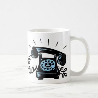 Ring Ring Basic White Mug