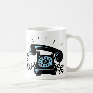 Ring Ring Classic White Coffee Mug