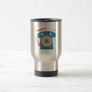 Ring Ring Stainless Steel Travel Mug