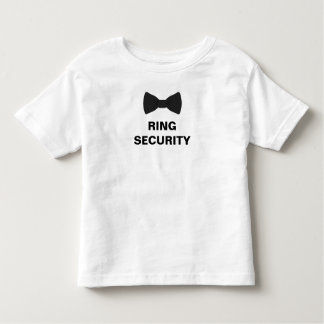 Ring Security Ring Bearer Toddler T-Shirt