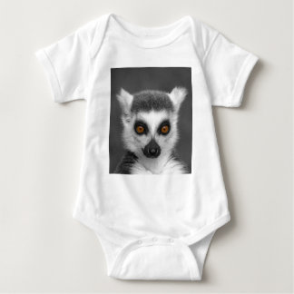 Ring Tailed Lemur Baby Bodysuit