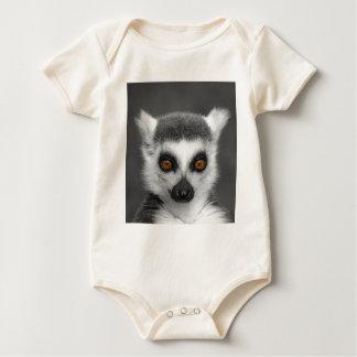 Ring Tailed Lemur Baby Bodysuit
