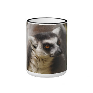 Ring-tailed Lemur Ringer Mug