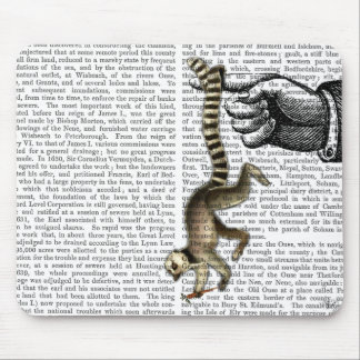 Ring Tailed Lemur on Finger 2 Mouse Pad