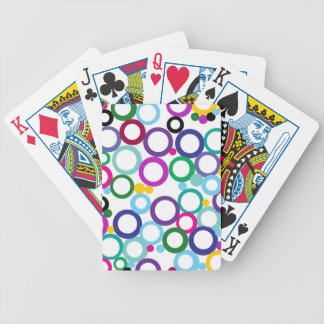 Ring Toss Bicycle Playing Cards